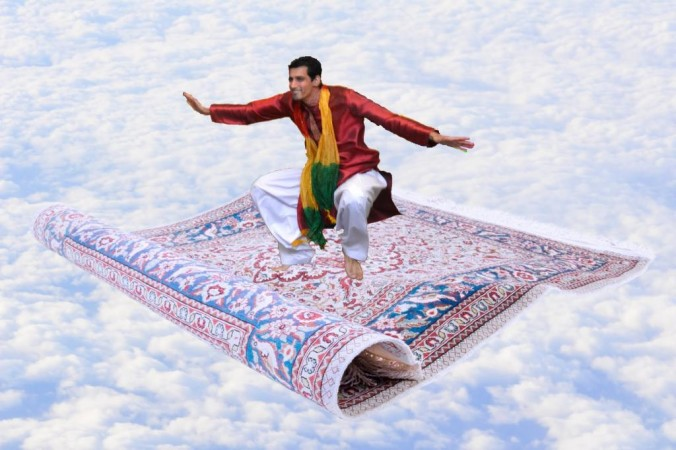 Magic Carpet Ride - Carpet Vidalondon